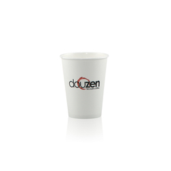 12 oz Paper Cup - White - Hi-Speed