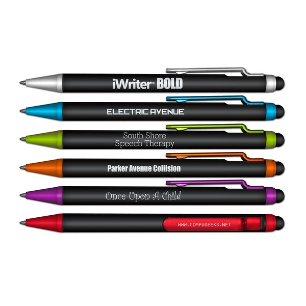 iWriterBOLD Stylus & Retractable Ball Point Pen