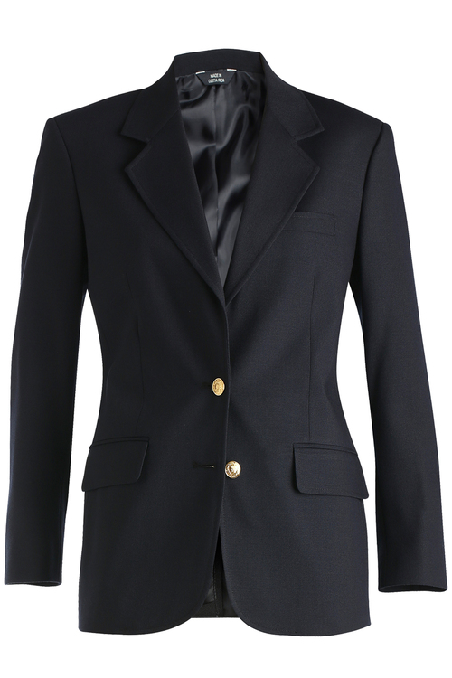 EDWARDS LADIES\' HOPSACK WOOL BLEND BLAZER