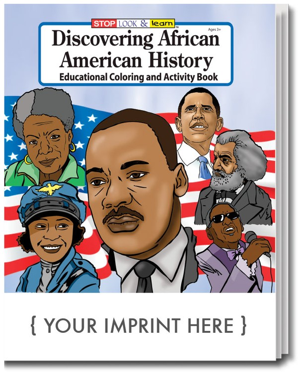 COLORING BOOK - Discovering African American History Coloring & Activity Book