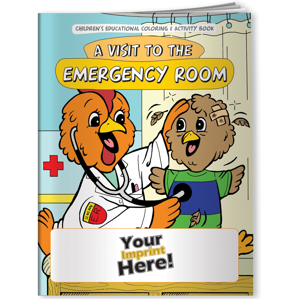 Children's Coloring Book - A Visit to the Emergency Room