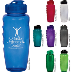 28 oz. Eco Polyclear Gripper Bottle - Drinkware