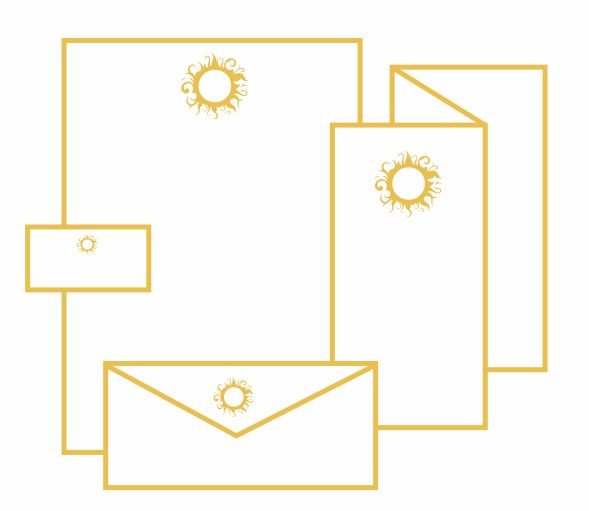 Letterhead, Business Cards, Flyers, Brochures, Envelopes, Forms, Checks, Postcards, Mailers