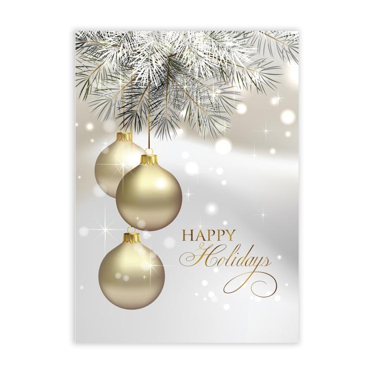 Shining Holiday Economy Holiday Card