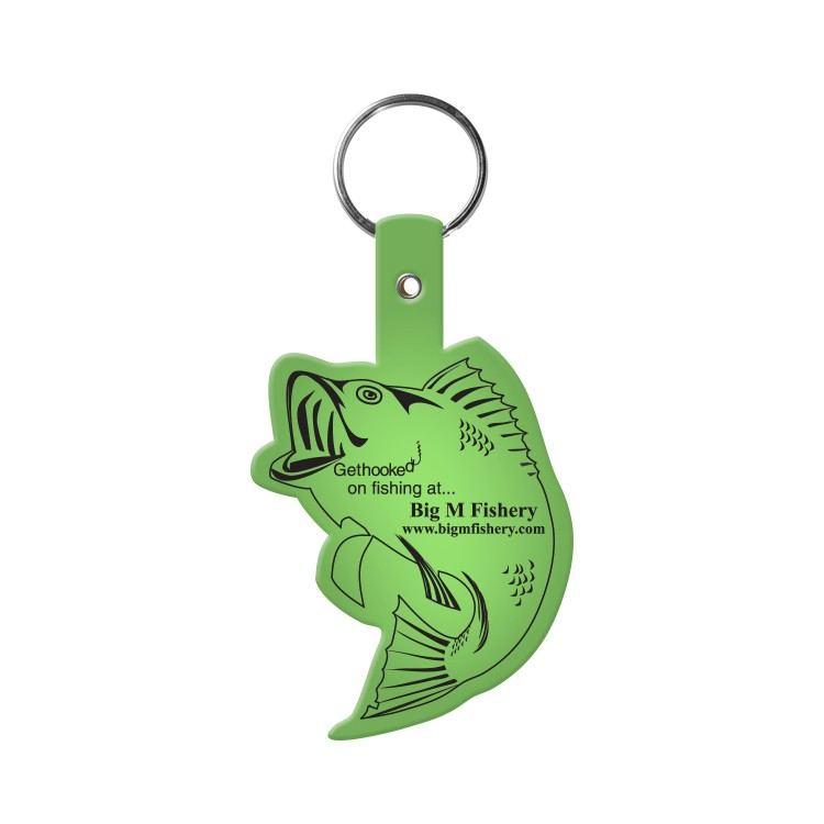 Fish Flexible Key-Tag