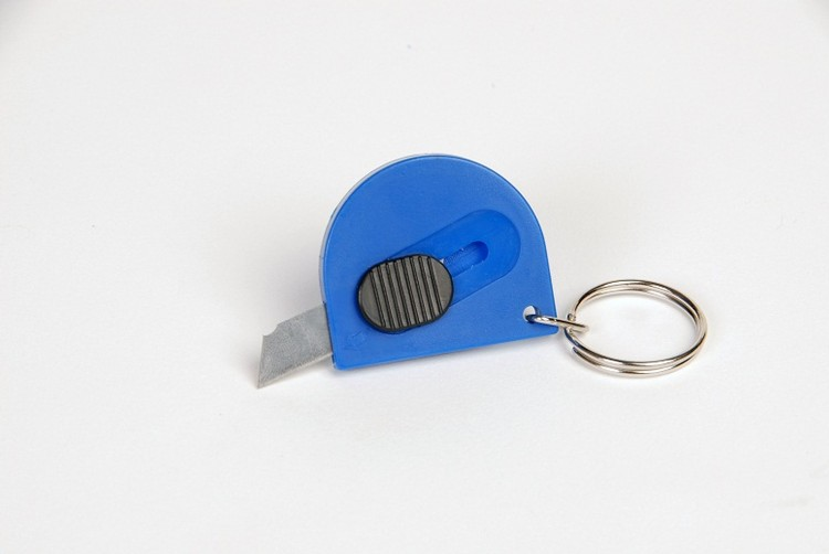 Key Ring w/ Mini Utility Knife
