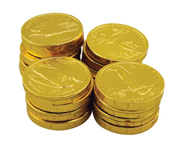 Bulk Chocolate Money Coins