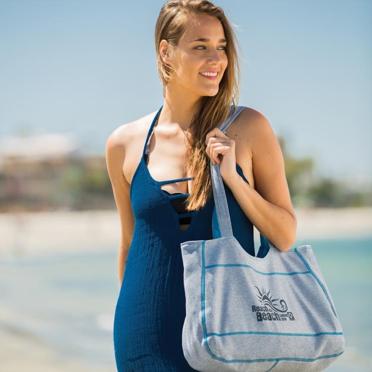 Sweatshirt Beach Tote Bags