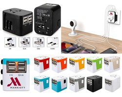 iBank® World Travel Adapter with 4 USB Charging Ports