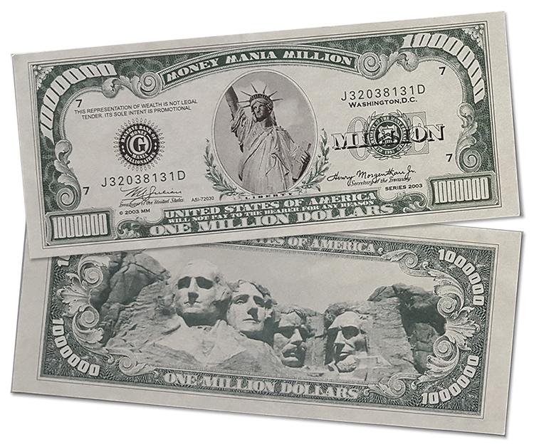 Million Dollar Bill American Dream