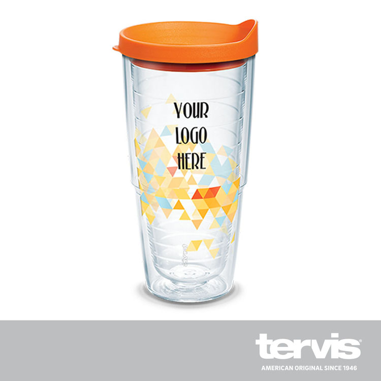 24oz Clic Tervis With Lid