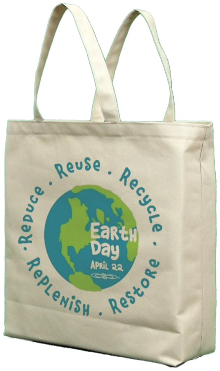 Recycled Easy Tote Bag