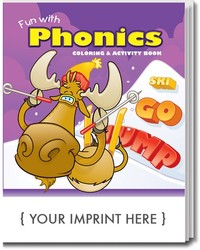 COLORING BOOK - Fun With Phonics Coloring & Activity Book - Coloring Book