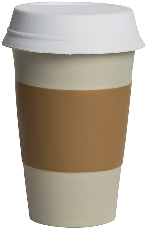 Take Out Coffee Cup Squeezies Stress Reliever