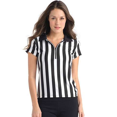 Juniors Referee Shirt with Zipper and Collar - Bestseller