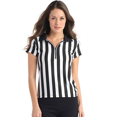 Juniors Referee Shirt with Zipper and Collar - Bestseller