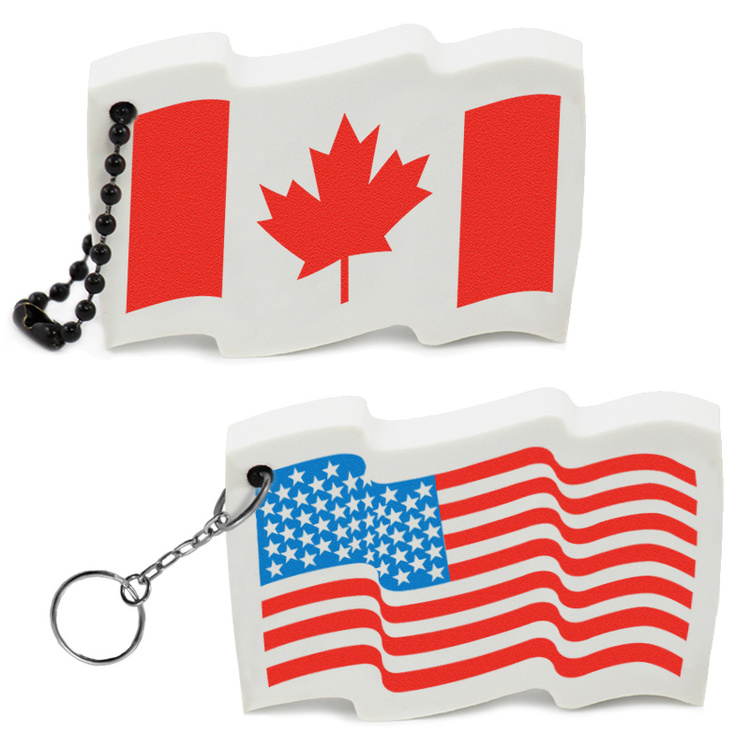 Flag Key Tag - Flag Key Tag