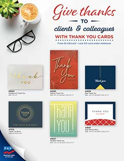 Thank You Cards from Warwick Publishing