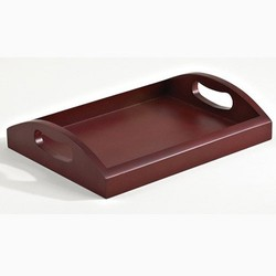 Rosewood Tray with Solid Bottom