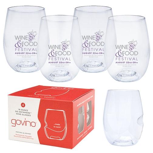 Govino® 16oz Wine Glass 4 Pack