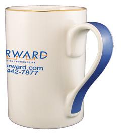 13 oz. Blue ribbon Mug