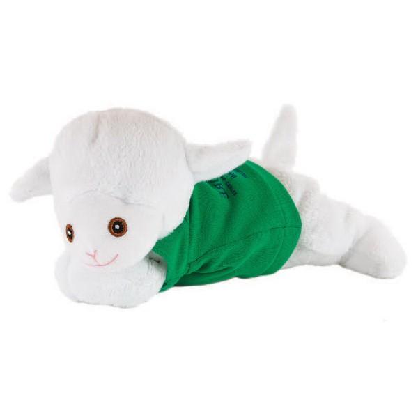 So Soft 8 Laying Beanie Animal- Lamb