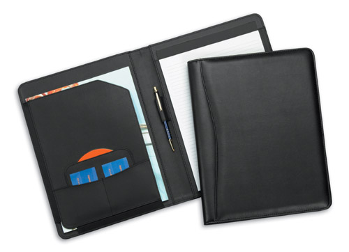 Kona Simulated Leather Pad Folder