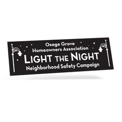 One Day Bumper Stickers - 2 Colors