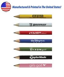 USA Made Round Golf Pencil