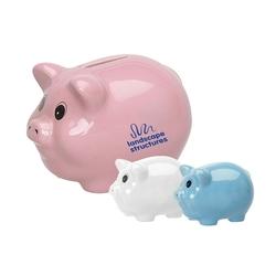 Ceramic Piggy Bank, Coin Bank