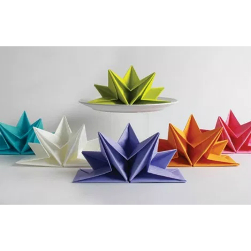 Folding paper napkins - instructions » HeyStyles   800x800