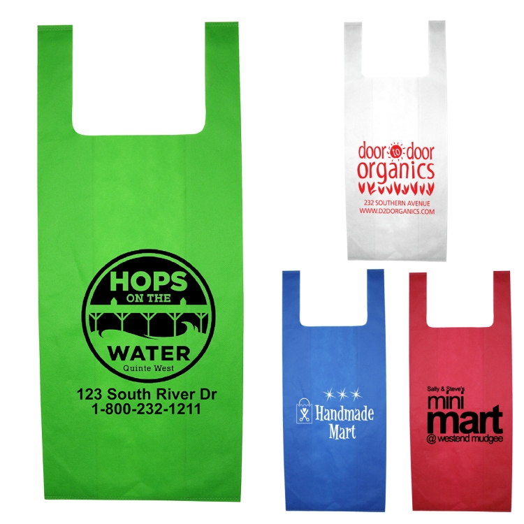 12 W x 22-1/2 - Everyday Grocery Shopping Tote Bag