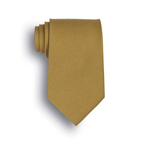 Vegas Gold Polyester Neck Tie