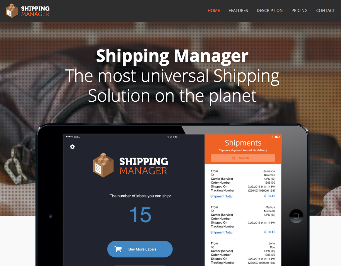 Shipping Manager