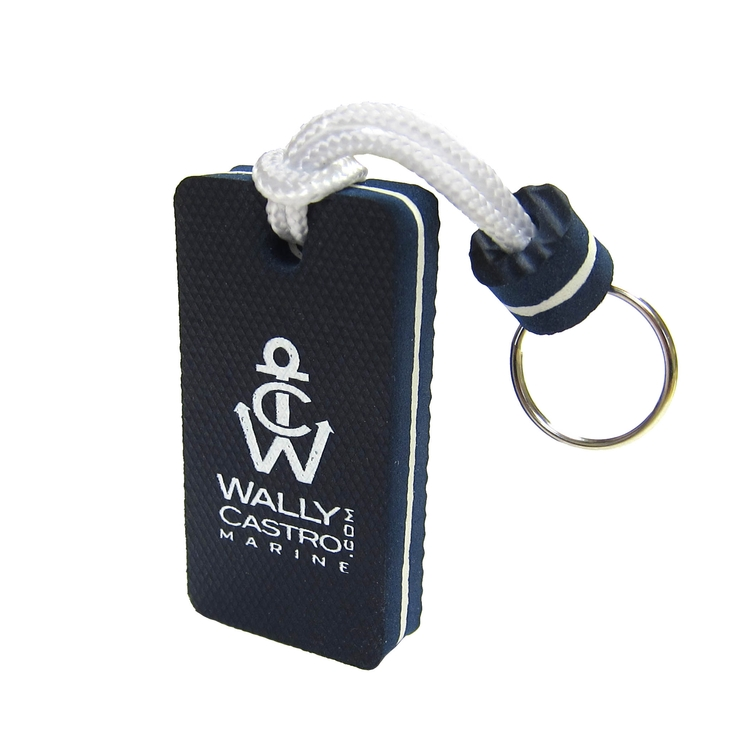 Rectangle-Shaped Floatable Keyring