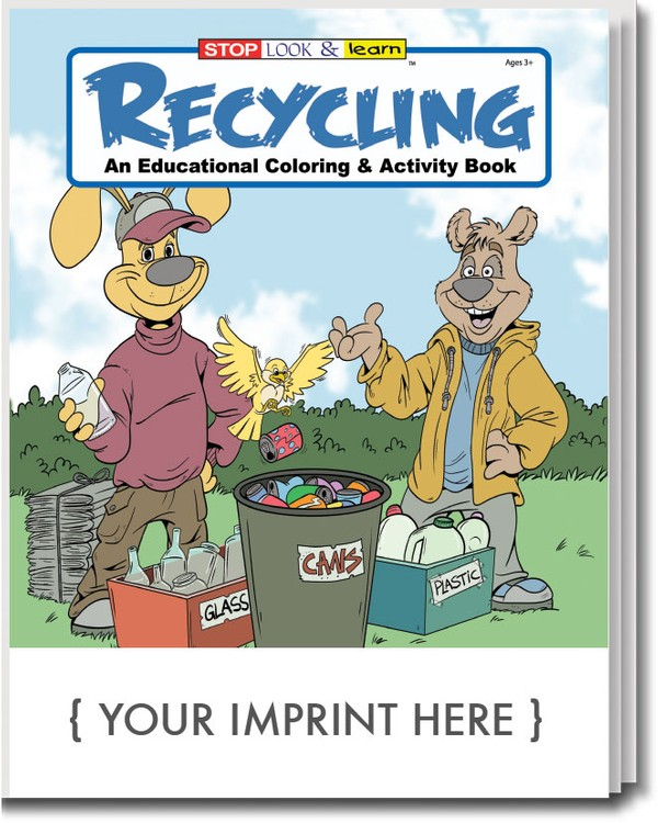 COLORING BOOK - Recycling Coloring & Activity Book