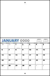 8.5x11 2018 Wall Calendar