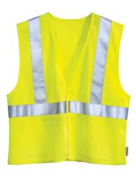 Polyester safety vest. ANSI Class 2 / Level 2. - ZONE