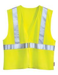 Polyester safety vest. ANSI Class 2 / Level 2. - ZONE