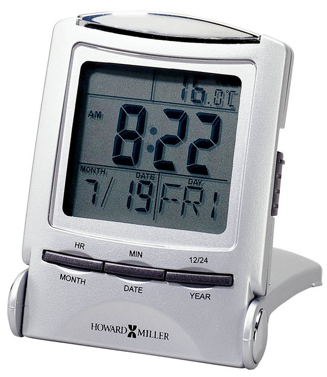 Howard Miller Distant Time Traveler alarm clock