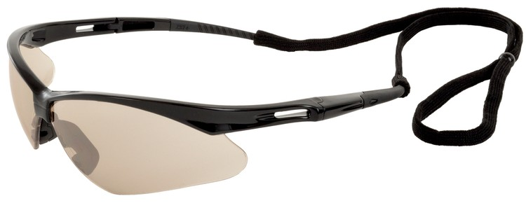 Octane Safety Glasses (Black Frame/In/Out Mirror Lens)