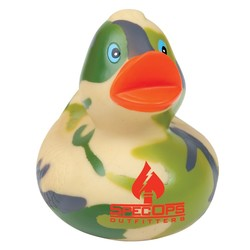 Camouflage Rubber Duck