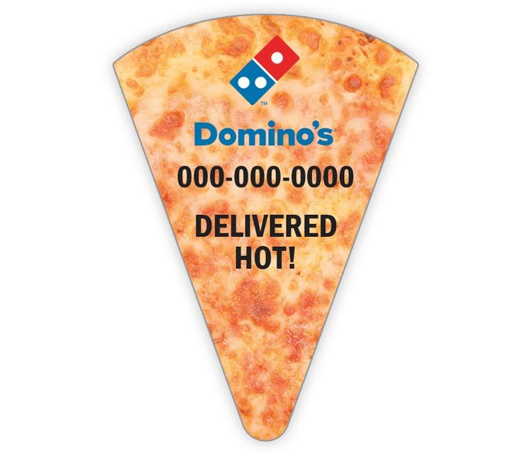 Domino's Pizza Slice Magnet - Cheese