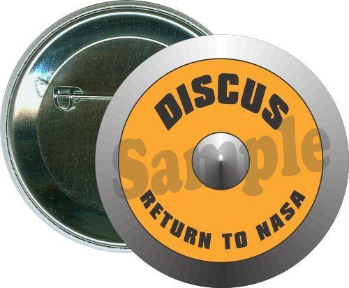 Discus, return to NASA, Track Button