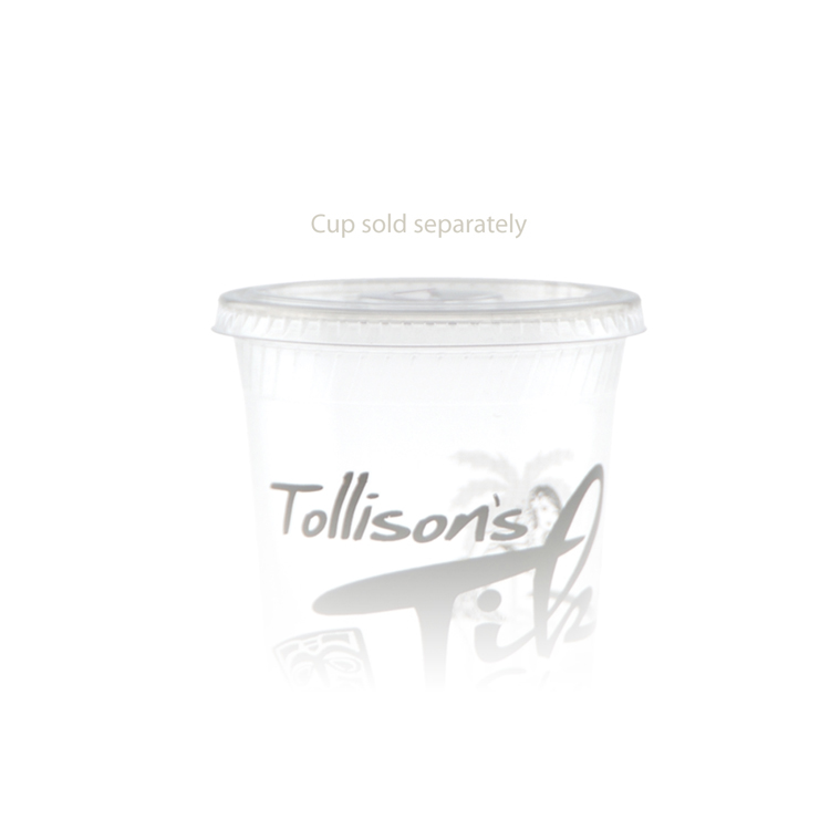 9/12/20 oz Eco-Friendly Plastic Cup Straw Slot Lid
