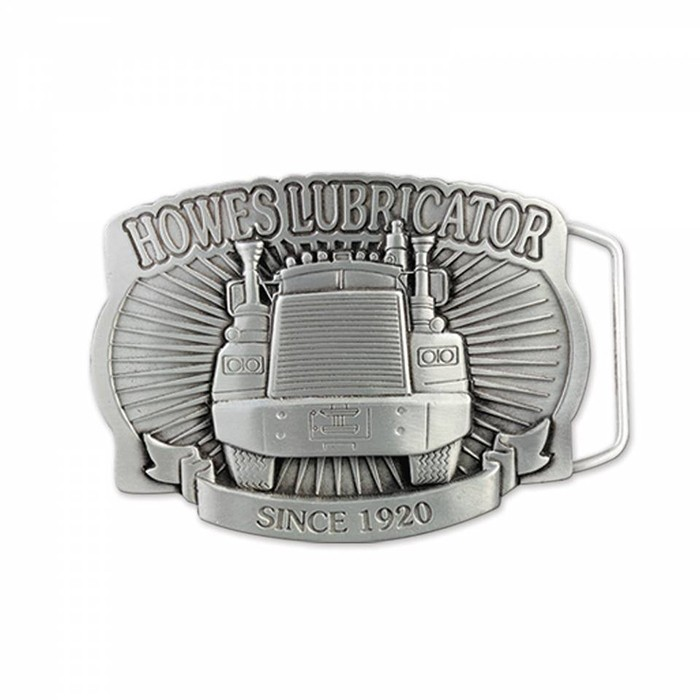 3D Pewter Belt Buckle (2 x 3 in)