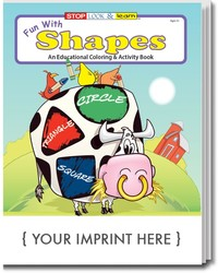 COLORING BOOK - Fun With Shapes Coloring & Activity Book - Coloring Book