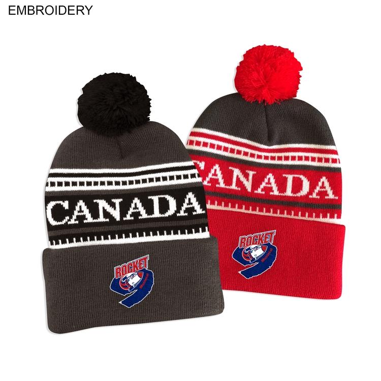 2fb32151138 Canada Pom Pom Beanie