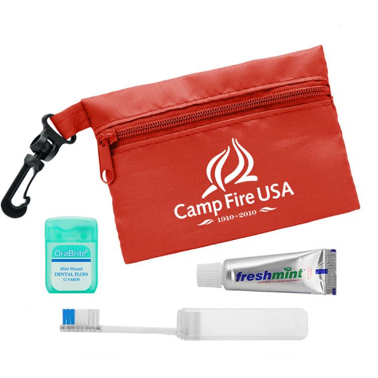 Zip Tote Travel Kit