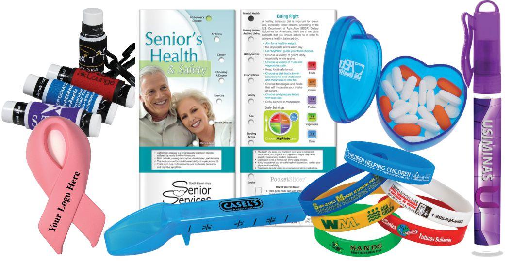 Health Fair Handouts Custom Logo Printed